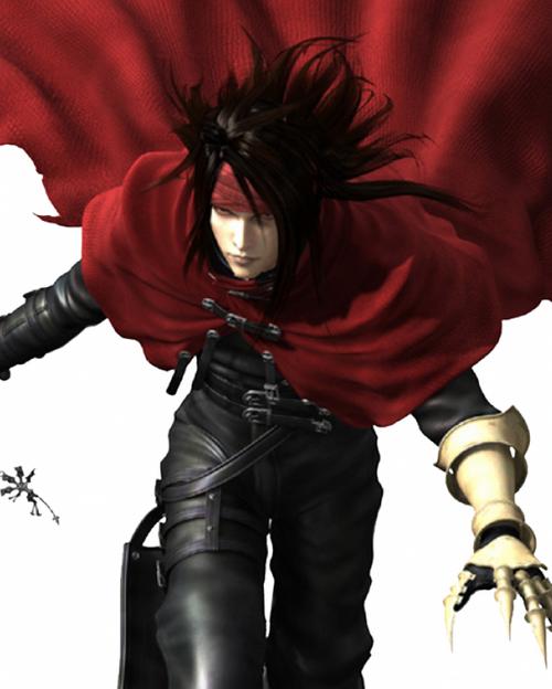 7 vincent valentine ffvii Top 20 personagens masculinos mais bonitos dos games