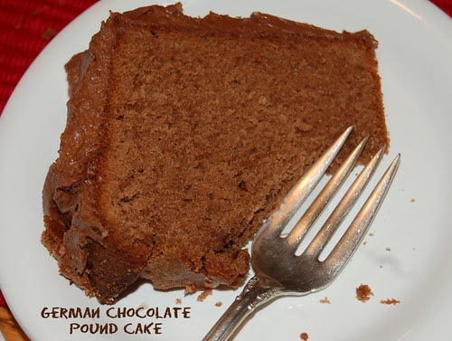 German Chocolate Pound Cake