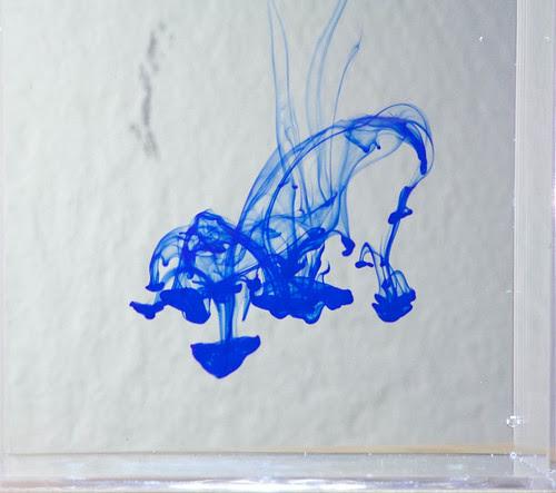 Blue ink vortices