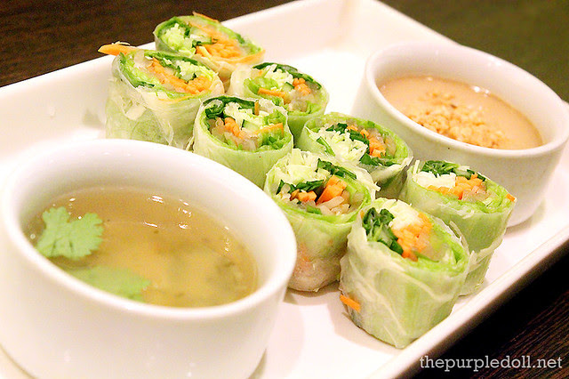 Vegetable, Herb and Rice Paper P180