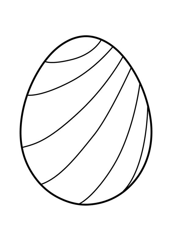 Easter Eggs Coloring Pages - ColoringPagesOnly.com