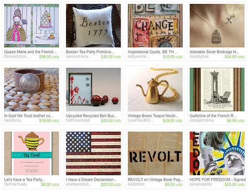 Talkin Bout A Revolution via totallylegalpot on Etsy, Freedom, Tea Party