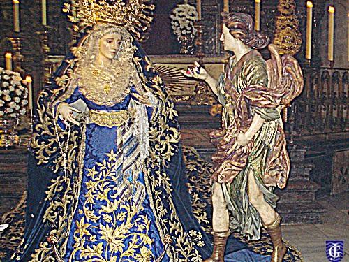 Resultado de imagen de La Virgen de Confortación de JErez
