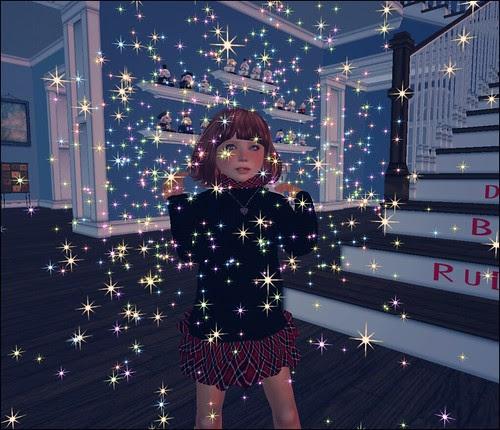 Our little sparkle girl