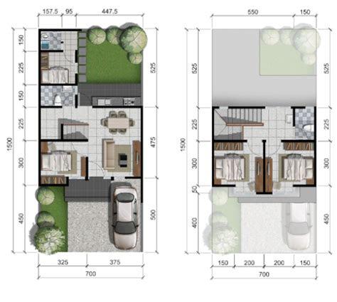 desain rumah 7x15 - desain rumah
