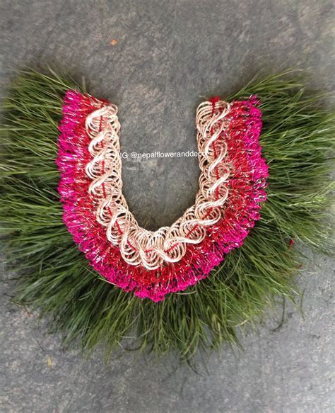 Dubo wedding garland   Buy dubo garland on kathmandu