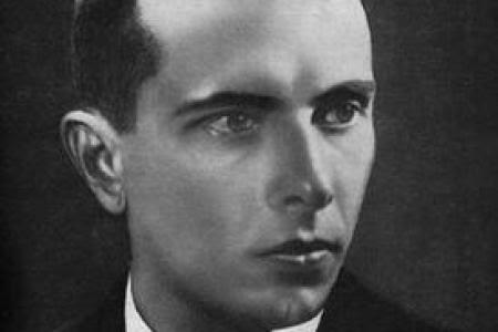 Stepán Bandera, líder de la OUN-B
