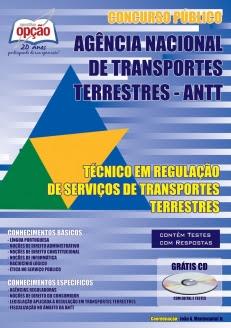 Agência Nacional de Transportes Terrestres (ANTT)-TÉCNICO EM REGULAÇÃO DE SERVIÇOS DE TRANSPORTES TERRESTRES-TÉCNICO ADMINISTRATIVO-ESPECIALISTA EM REGULAÇÃO DE SERVIÇOS DE TRANSPORTES TERRESTRES-ANALISTA ADMINISTRATIVO