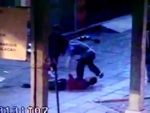 Cadeirante é agredido em assalto em Vacaria (Foto: Reprodução)