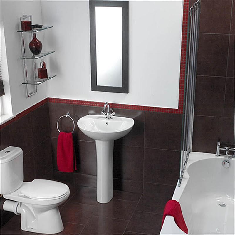 modern bathroom shelves | http://lomets.com