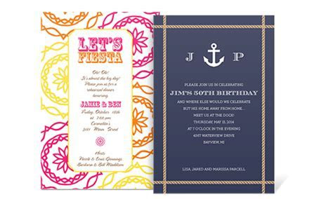 Party Invitation Wording Samples by InvitationConsultants.com
