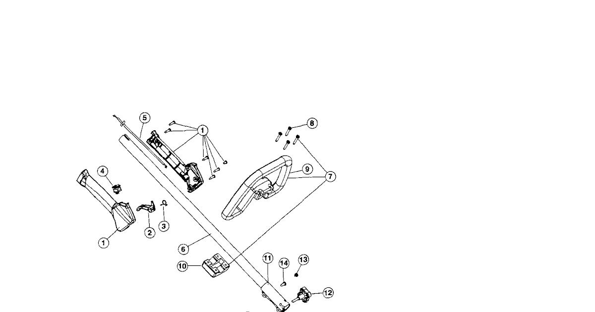 Wiring Diagram  28 Craftsman String Trimmer Parts Diagram