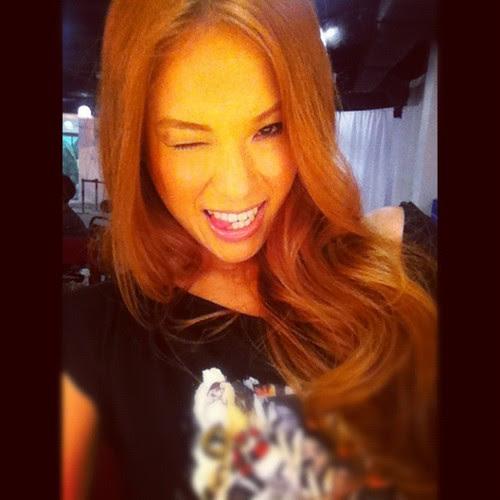 Beauty cover shoot Nicole Tan