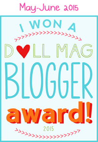 American Girl Doll Blog Award