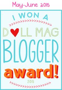 American Girl Doll Blog Award