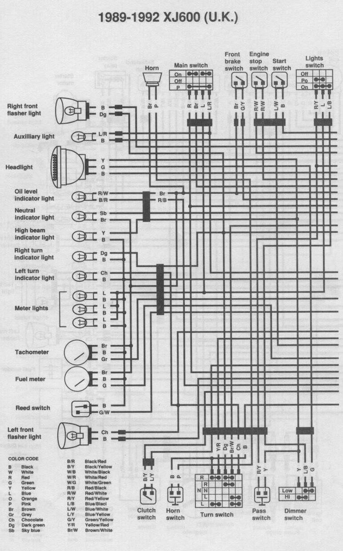 Yamaha 89 Wiring Diagram