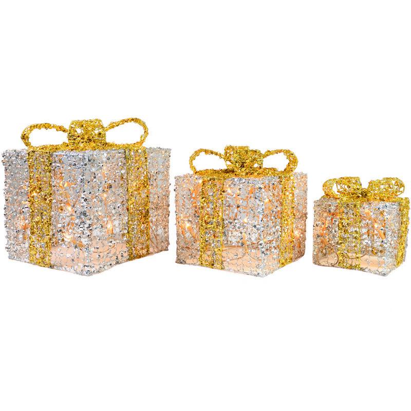 christmas light up gift boxes christmas ideas