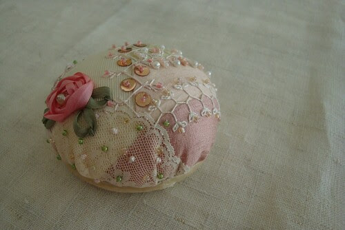 Rose Pincusion