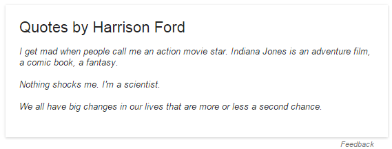 Google Adds Knowledge Card Quotes For Famous People Including