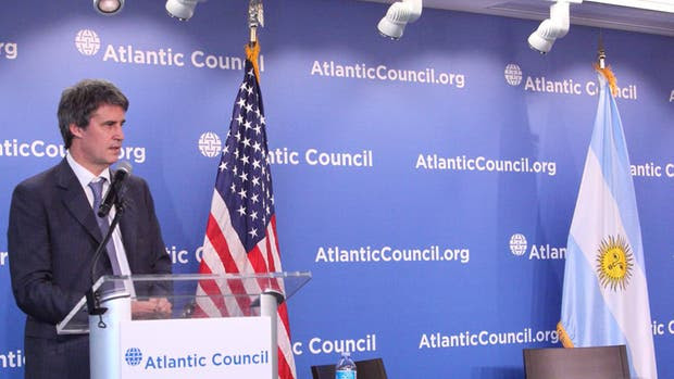 El ministro, al exponer ayer en el Atlantic Council, en Washington
