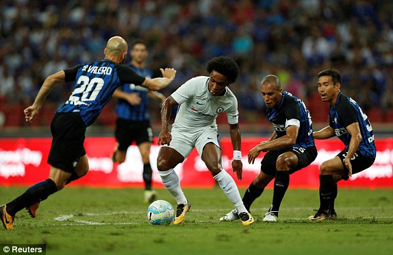 Chelsea v Inter Milan