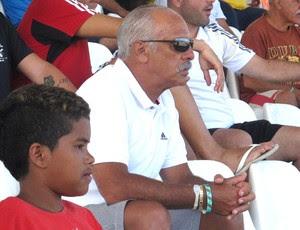 Júnior e Filho Futebol de Areia Flamengo (Foto: Carol Fontes)