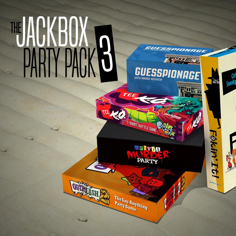 The Jackbox Party Pack 3 for PlayStation 4 (2016) Ad ...