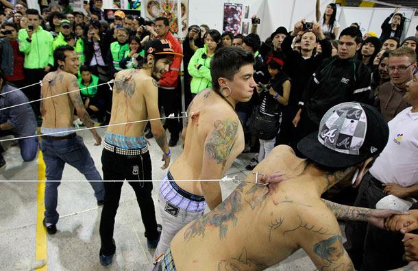Convención Internacional De Tatuadores En Bogotá Diario De Avisos