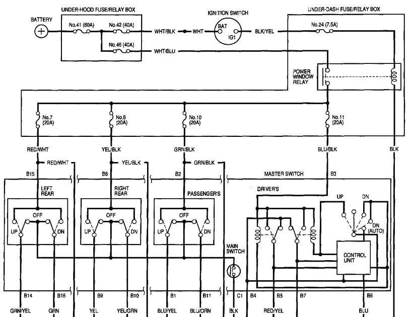 1996 honda fuse diagram