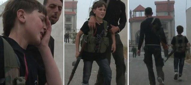 Tentara Belia Lawan Pasukan Rezim Suriah