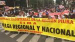 Maestros del Sindicato Magisterial de la Región Piura iniciaron huelga indefinida [FOTOS]