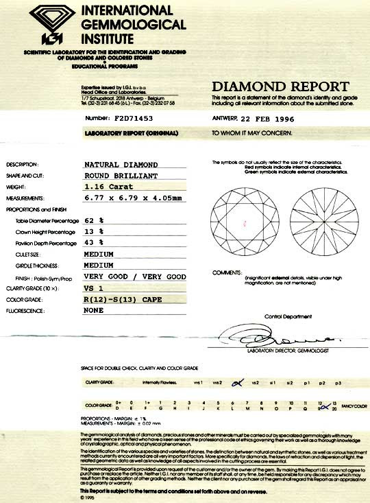 Foto 9, Diamant 1,16ct Brillant, IGI VS1, Super-Brillanz Juwel!, D5824