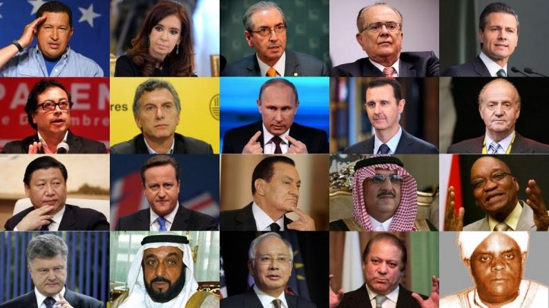 Resultado de imagen para lideres politicos