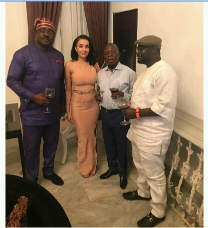 Iara Oshiomhole Looks Pregnant (Photos)
