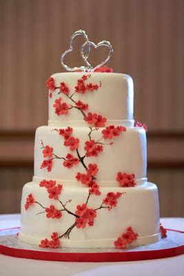 From Sketch to Display: Cherry Blossom Cake, Part 2   A