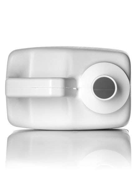 F-Style Plastic Container, HDPE, 1 Gallon, White, 38-400 Neck