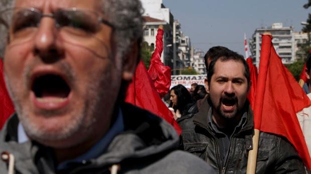 Huelga General en Grecia cierra con una de las manifestaciones más masivas de los últimos años