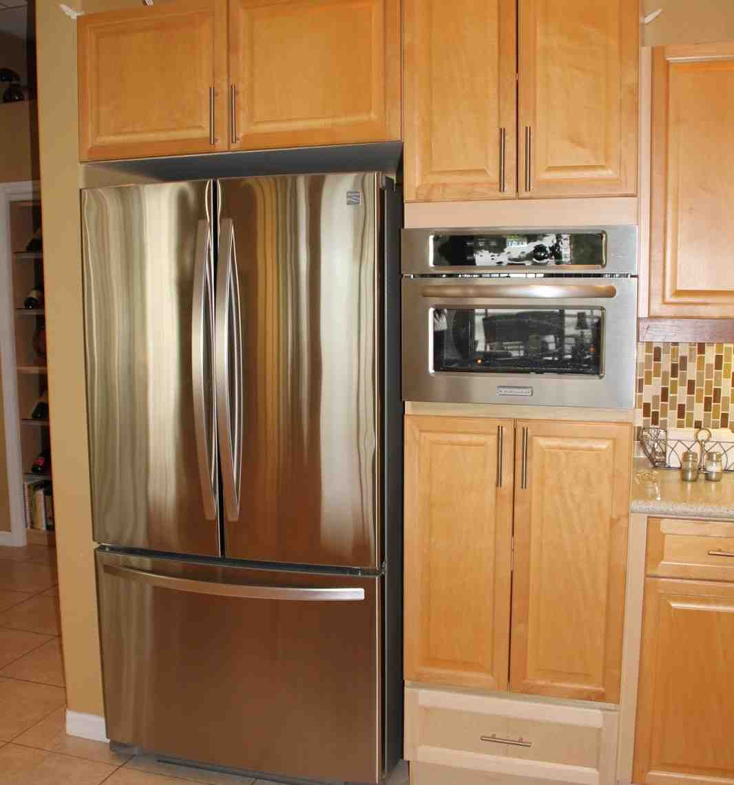 Tall Microwave Cabinet - Home Furniture Design