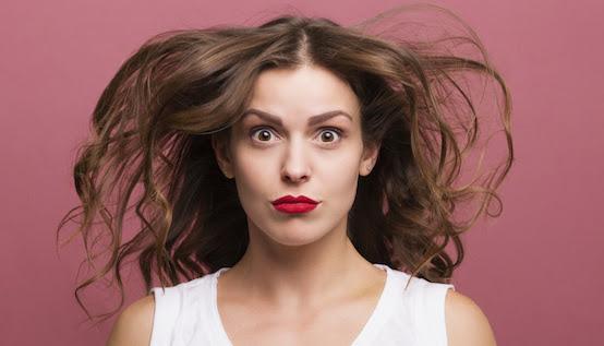 Bad Hair Day Wenn Der Helm Ab Ist Frau Am Gas