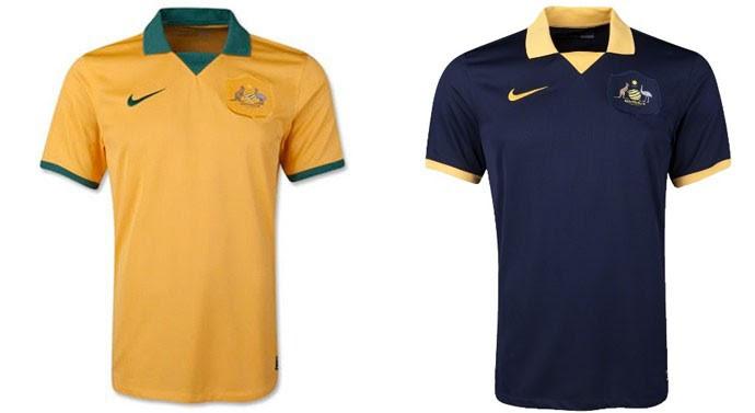 camisa Austrália Copa do Mundo Blog