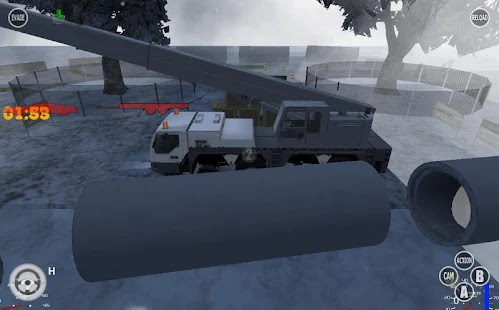 Heavy Construction Crane Drive - screenshot thumbnail