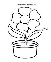 [Terbaru] Gambar Bunga Mawar Untuk Mewarnai
