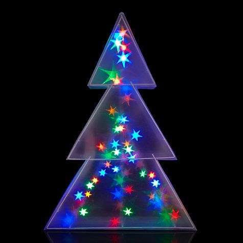christmas light hologram ideas christmas decorating - Holographic Christmas Decorations