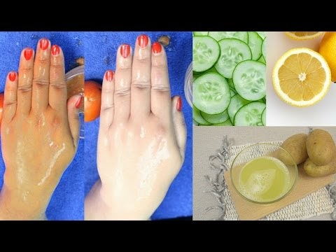 Cucumber, potato & Lemon Remedy for Extra Fair Skin. Skin whitening Remedy