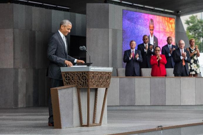 Image result for President Obama opens new African-American Museum