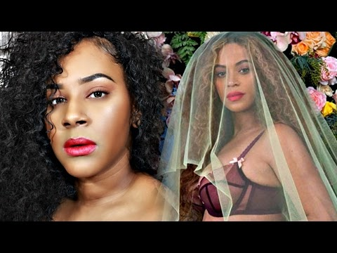 Beyonce Pregnant with Twins! | Photoshoot inspired Makeup ♥