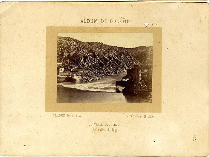 Artificio de Juanelo hacia 1858. Fotografía de Jean Laurent incluida en un álbum sobre Toledo © Archivo Municipal. Ayuntamiento de Toledo