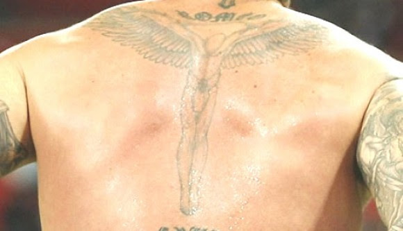 David Beckham Back Tattoos Meaning And Pictures Of Each Back Tattoo