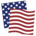 American Flag and Star Printable Papers
