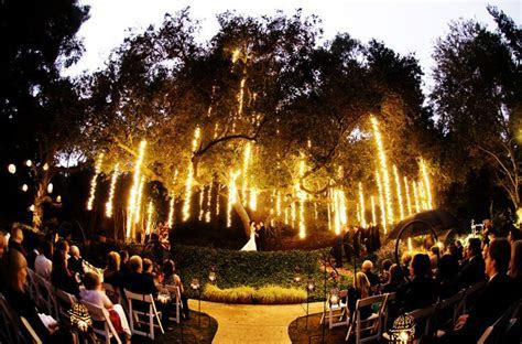 Yhis may be insane, but.. a wedding at night time? Like